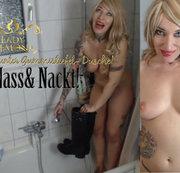 Duschen mit Gummistiefeln!    | by Lady_Demona