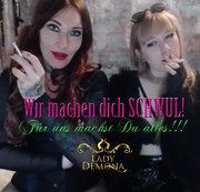 Du wirst sooooo schwul, Loser! Für uns tust Du alles! | by Lady_Demona & Empress Lawless