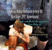 Lesbian Nylon Göttinen geben saftige PP Anweisung!| by Lady_Demona