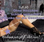 Ohne Höschen scharf gemacht! T&D in High Heels & Halterlose!    | by Lady_Demona