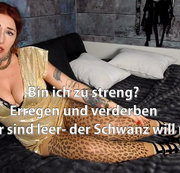 TEASE& DENIAL! Bin ich zu streng? Eier leer, Schwanz will mehr!  | by Lady_Demona