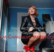 Sissy, der Bauarbeiter und seine Gaylord Freunde!   | by Lady_Demona