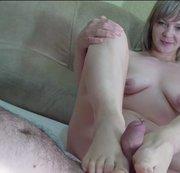 Masturbation mit Füßen