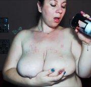 Wax on my boobs