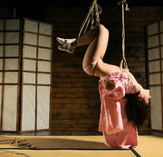 Kimono in ropes