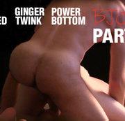 Big-dicked Ginger Twink Power Bottom Bjorn Part 1