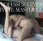 Professor Gives a Private Master Class Part 1