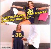 Cheerleader vom Mamas Freund benutzt