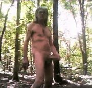 Naked And Cumming