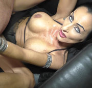 Porno-Lady blank gebangt 2