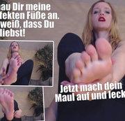 Du liebst meine Füße