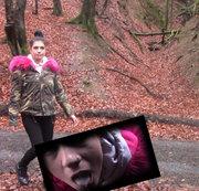 Im Wald spatzieren und Spanner geblasen!