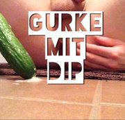 Gurke mit Dip