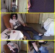 Dreckiges Zimmer, Teil eins: Neue Jeansleggings