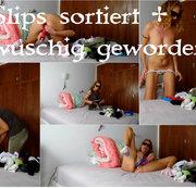 Slips sortiert + wuschig geworden :)