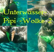 Unterwasser Pipi-Wolke 2