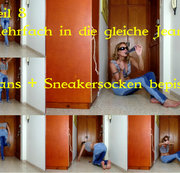 Teil 8. Jeans & Sneakersocken bepisst