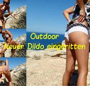 Neuer Dildo eingeritten
