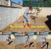 PVC: Bei 36 Grad im Garten buddeln