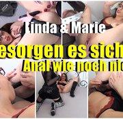 Linda und marie Besorgen es sich Anal wie noch nie