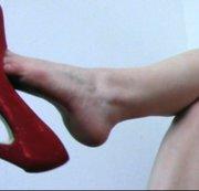 Dangling mit Heels