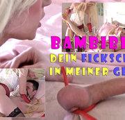 Teeny-Domina BambiBee18: Dein Fickschwanz in meiner G****