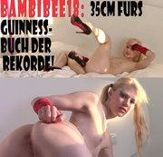 BambiBee18: 35cm fürs Guinness-Buch der Rekorde!