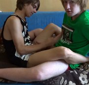 SERTIEL: Two guys kiss and wank until cum Download