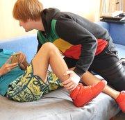 SERTIEL: Sneaker lad footjob and feet worship Download