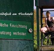 Kleiner Dildofick am Hochsitz