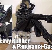 Heavy Rubber & Panorama-Gasmaske