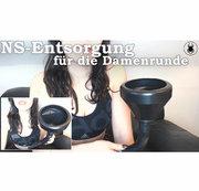 NS-Entsorgung für die Damenrunde  -  Toilet for the girls-club