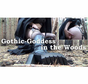 Gothic- Goddess in the woods