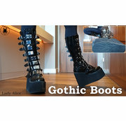 Heavy Gothic Boots