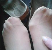 Ich trage BIO - Latschen ** Perlon Feet **