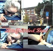 Lutschtour durch Zürich! Beim fahren deepthroat gelutscht!
