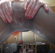 Wish video; Squirt in seemless pantyhose