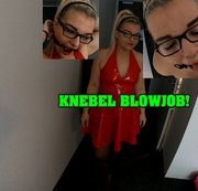 Knebel Blowjob!