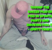 1080HP THE SOCCER PLAYER PISS IN SPORTS PANTS AND SMOKING FULL !!! + (DIRTY TALK!
