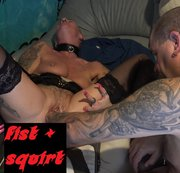 Pussy FIST mit Squirt ............