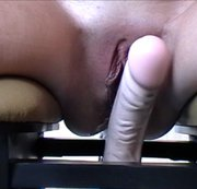 Zicken Pussy squirting on Monkey Rocker