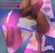 Erregen dich Füße in der Strumpfhose?