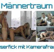 Männertraum – Userfick mit Kamerafrau!