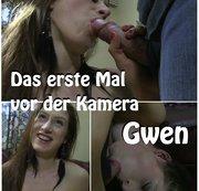 Das erste Mal vor der Kamera - Gwen
