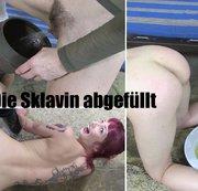 Die Sklavin abgef�llt