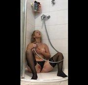 Kurzer Einblick in die Dusche........