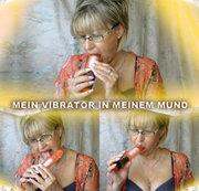 Mein Vibrator in meinem Mund