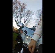 Nach dem Motorrad fahren: pissen! OUTDOOR