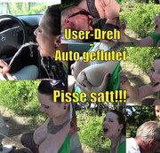 Der Mer*edes-Mann - Pisse-Springflut im Auto!