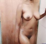 Sensual shower tease